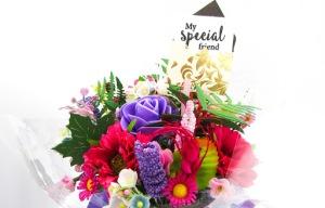 mini aqua bouquet