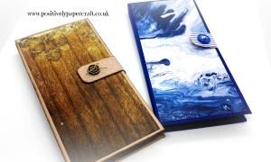 Handmade notebook folder