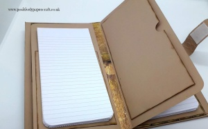 Positivelypapercraft tutorial, Chipboard folio tutorial