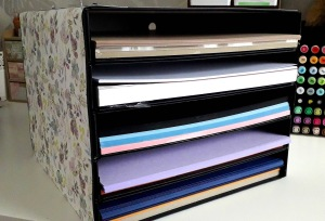 positivelypapercraft craft room storage ideas