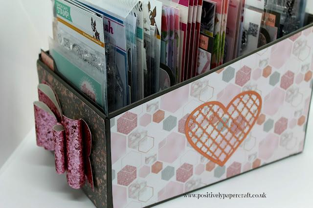 Easy craft room storage, positivelypapercraft,