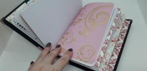 Handmade travellers notebook, positivelypapercraft,